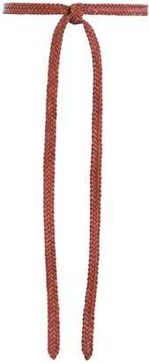 Zimmermann Woven Tie Belt