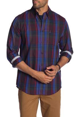 Ben Sherman Plaid Long Sleeve Shirt