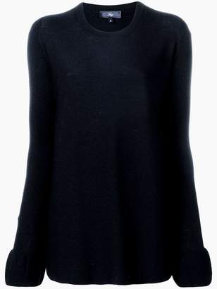 Fay ruffled cuff jumper