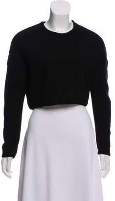 Stella McCartney Wool Knit Crop Top