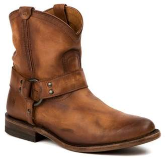 Frye Wyatt Harness Leather Short Boot