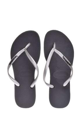 Havaianas Women's Havianas, Slim Logo Pop Up Thong Sandals 394 M