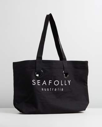 Seafolly Beach Eyelet Tote