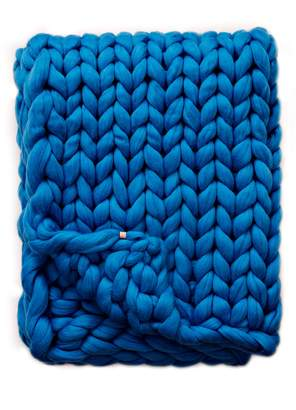 Mae LANE AND Merino Wool Throw Blanket