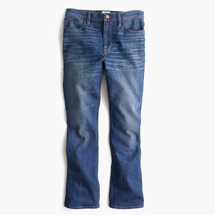 J.CrewPetite Billie demi-boot crop jean in Parkgate wash