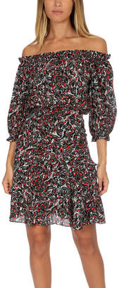 Saloni Grace Silk Dress