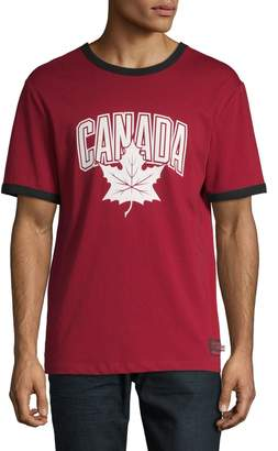 Canadian Olympic Team Collection Short-Sleeve Cotton Canada Tee