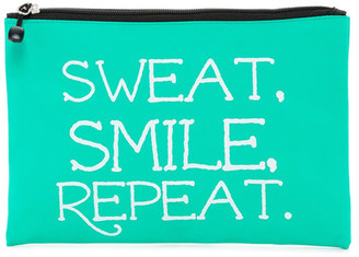 APANA Sweat Smile Repeat Nylon Pouch $15 thestylecure.com