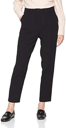 Sisley Women's Trouser, (Black 100), (Size: 48)