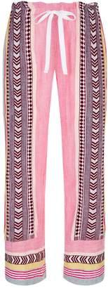 Lemlem Luchia Wide-Leg Trousers