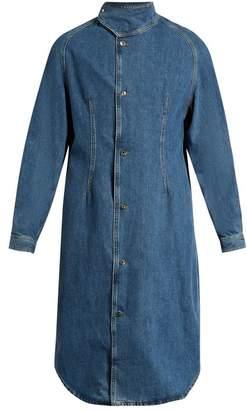 J.W.Anderson High Neck Denim Jacket - Mens - Indigo
