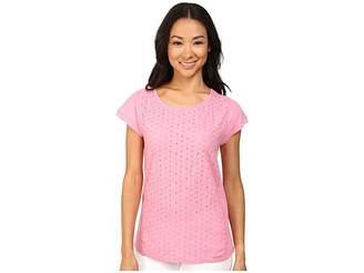 U.S. Polo Assn. Eyelet T-Shirt Women's T Shirt