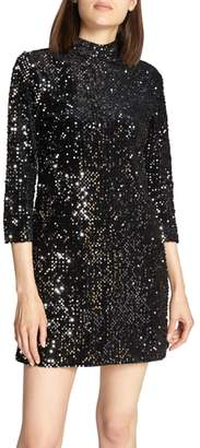 Sanctuary Keep Your Heads Up Sequin Shift Dress