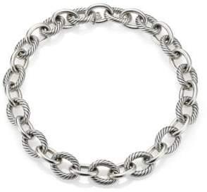 "David Yurman Oval Extra-Large Link Necklace/17"""