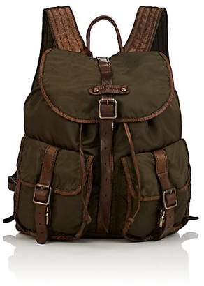 Campomaggi WOMEN'S LEATHER-TRIMMED BACKPACK