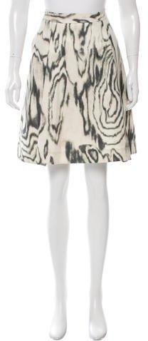 3.1 Phillip Lim3.1 Phillip Lim Printed Knee-Length Skirt