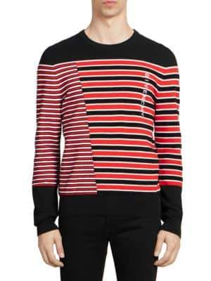 Givenchy Variegated Striped Sweater