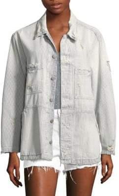 Amo Rosie Distressed Jacket