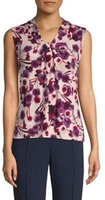 Calvin Klein Floral Sleeveless Top