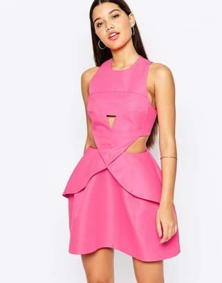 Aq/Aq AQ AQ Daria Mini Dress With Pleat Front