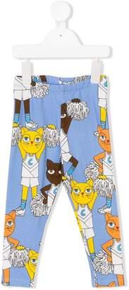 Mini Rodini Cheercats leggings