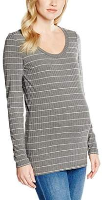 Mama Licious MAMALICIOUS Women's MLMIE L/S JERSEY TOP Maternity Long Sleeve Top,(Manufacturer size: Medium)