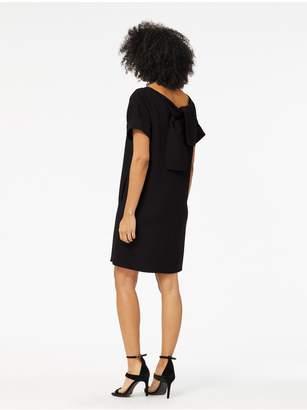 Oscar de la Renta Stretch-Wool Crepe Shift Dress