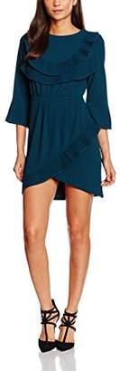 Sister Jane Women's Wintersong Ruffle Dress,8 (Manufacturer Size:S)