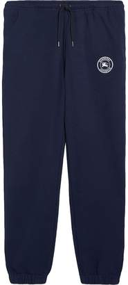 Burberry logo track trousers