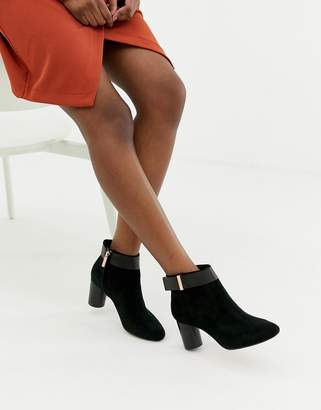 Ted Baker Suede Heeled Ankle Boots