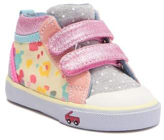 See Kai Run Jersey Mix Hi-Top Sneaker (Toddler & Little Kid)
