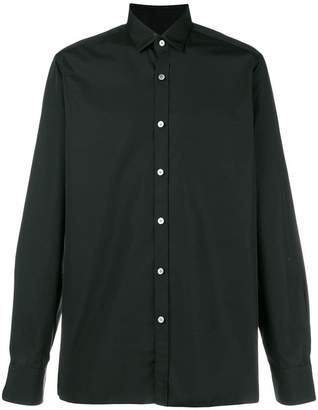 Lanvin classic fitted shirt