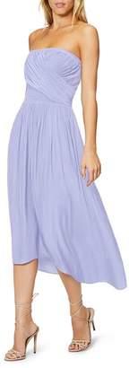 Ramy Brook Ava Pleat-Front Dress