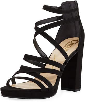 Sam Edelman Adele High-Heel Strappy Sandals