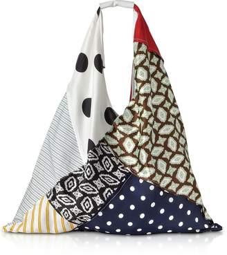 Maison Margiela Archive Fabric Patchwork Japanese Tote Bag
