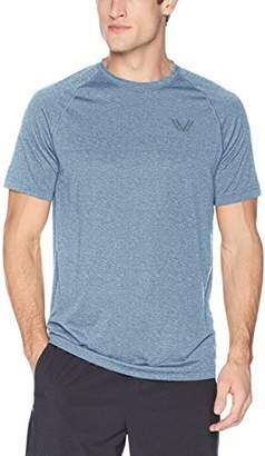 Peak Velocity Men's Standard Tech-Vent Short Sleeve Quick-dry Loose-Fit T-shirt