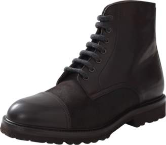 Brunello Cucinelli Leather Cap Toe Boot