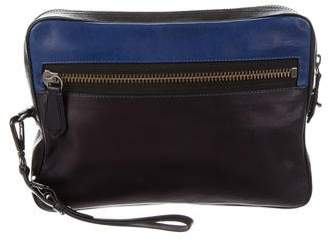 Reed Krakoff Leather Box Clutch II