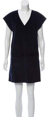 Tomas Maier Corduroy Mini Dress