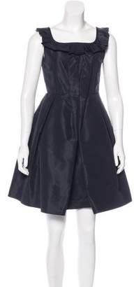 Miu Miu Taffeta Mini Dress