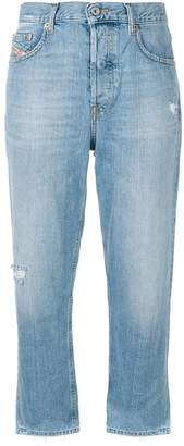 Diesel distressed faded jeans