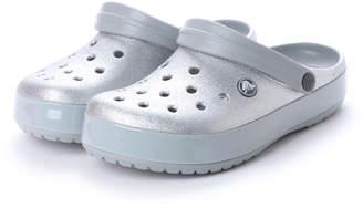 Crocs (クロックス) - クロックス crocs クロッグサンダル Crocband Glitter Clog 205419-040