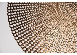 Lintex Brocade Copper 100% Eco Friendly Vinyl Placemat (Set of 4)