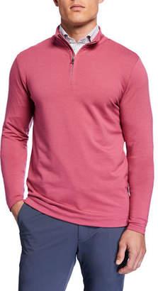 Peter Millar Men's Ace Crown Crafted Quarter-Zip Sweater