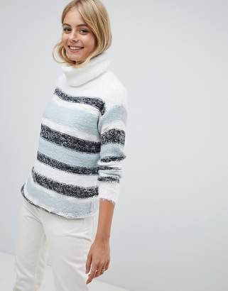 Brave Soul Frogal Stripe Sweater