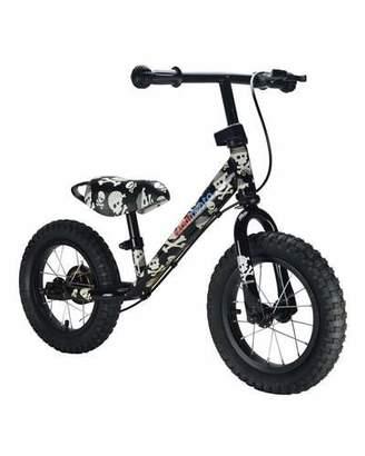 Kiddimoto Super Junior Max Skullz Balance Bike $140 thestylecure.com