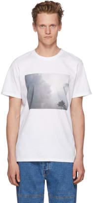 A.P.C. White Tropicool T-Shirt