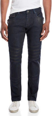 Cult of Individuality Greaser Slim Straight Moto Jeans