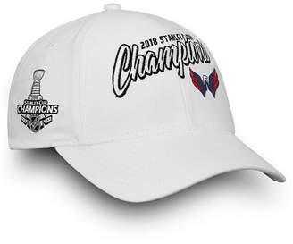 Authentic Nhl Headwear Women's Washington Capitals Stanley Cup Champ Adjustable Cap
