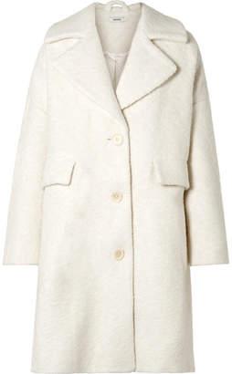 Ganni Fenn Oversized Wool-blend Bouclé Coat
